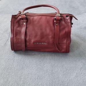 Medium Burberry Leather Handbag